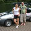 Geschwister Schlicker aus Obermögersheim bei der Tajik-Rallye