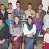 Das Bild zeigt die Gewinner der Preise des Weihnachtsschießens und Sieger der Vereinsmeisterschaft.