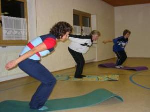 Damengymnastik im Sportheim
