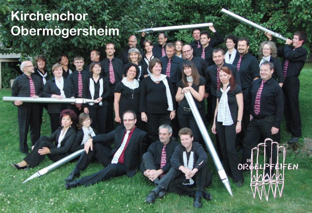 Gruppenbild Orgelpfeifen